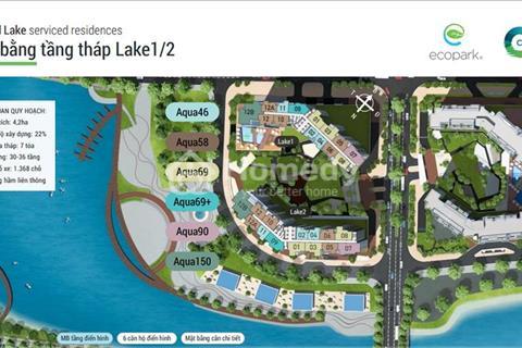 Tòa Central Lake 1 tiếp tục mở thêm căn Aqua 46 và Aqua 58