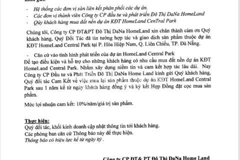 Đường 5,5m dự án Homeland Central Park giá chỉ từ 12,5 triệu/m2