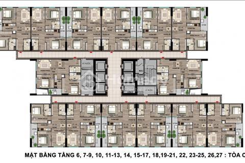 Nhà ở xã hội Bộ Công an 43 Phạm Văn Đồng 69,8m2 rẻ nhất trong cùng khu vực