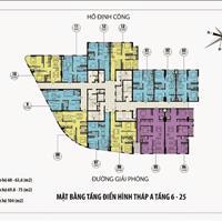 Anh Quang bán gấp chung cư CT36 Định Công, căn 2004-A, 104m2, giá 21 triệu/m2