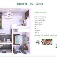 Cho con du học nên bán lại căn hộ Thủ Thiêm Garden quận 9, căn góc 64m2, 2 phòng ngủ 1,4 tỷ có VAT