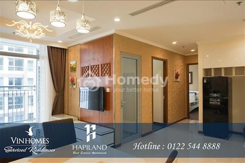 Cho thuê căn hộ Vinhomes Central Park cao cấp 2 phòng ngủ full nội thất