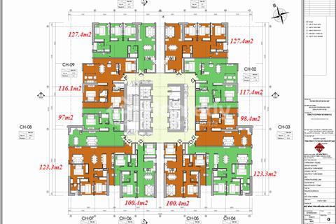 Cần tiền bán gấp căn hộ FLC Cầu Giấy, căn 1805, 92m2, giá 34.2 triệu/m2
