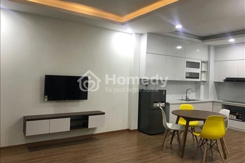 Cho thuê chung cư đủ đồ Hoàng Quốc Việt, Phạm Tuấn Tài, 1 phòng ngủ, 45m2