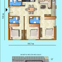 Còn lại duy nhất căn góc ngoại giao 3 phòng ngủ view biển tầng cao tại Sơn Thịnh 3