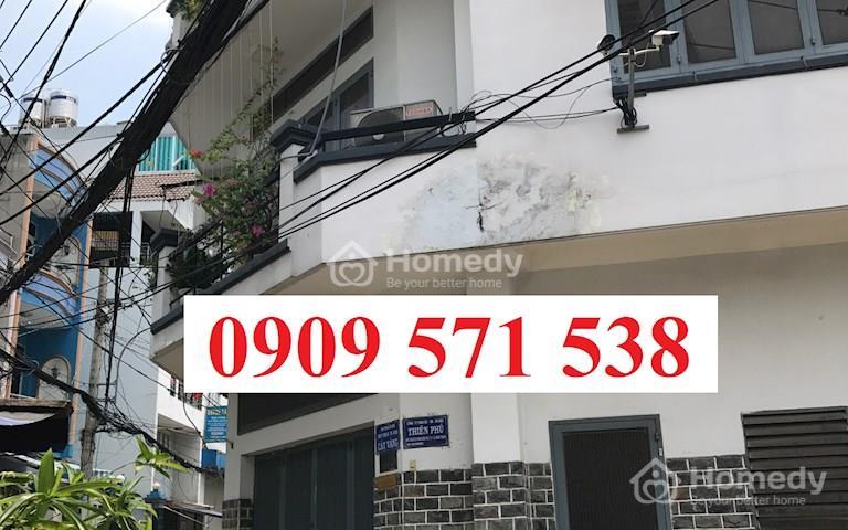 Bán nhà hẻm xe hơi 1 trục Phan Văn Trị, phường 1, Gò Vấp, sát Phạm Văn Đồng