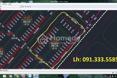 Mở bán lô LK44 khu đô thị ven biển Hà Khánh B mở rộng giá tốt nhất thị trường