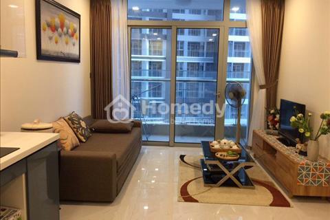 Căn hộ Vinhomes Tân Cảng tầng cao vừa bàn giao 2 PN full nội thất, view đẹp, giá 20 triệu/tháng