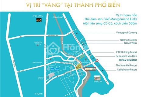 Bán lô góc Green City 10 triệu/m2 lô LK17-1 hướng Tây Nam sau lưng Cocobay