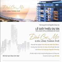 Mở bán căn hộ nghỉ dưỡng cao cấp tiêu chuẩn 5 sao tại Quy Nhơn chỉ từ 500 triệu/căn