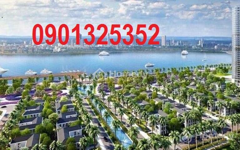 Nợ ngân hàng cần bán gấp lô đất ven biển đẹp sát biển Long Hải, mặt tiền CMT8, 100m2 giá 450tr/nền