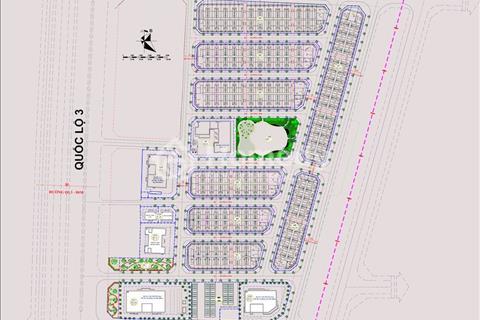 Bán đất nền dự án siêu hot tại thị trấn Đông Anh với hơn 300 lô đất, sổ đỏ riêng