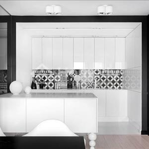 Thiết kế căn hộ đen trắng phong cách hiện đại