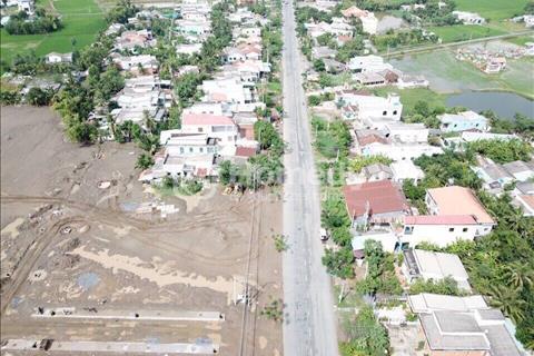 Đất Long An bán đất mặt tiền quốc lộ 50 khu dân cư hiện hữu tấp nập