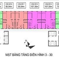 Bán căn hộ 2 phòng ngủ chung cư Booyoung Hàn Quốc, khu đô thị Mỗ Lao, chỉ 900 triệu nhận nhà ở luôn