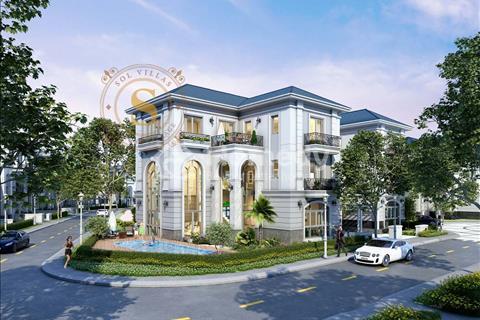 Biệt thự Compound cao cấp kiến trúc Pháp sang trọng và đẳng cấp 4 sao