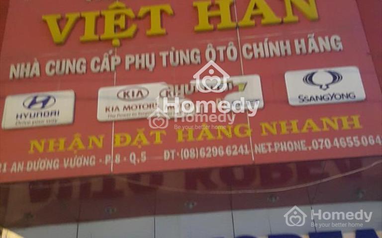 Cho thuê nhà nguyên căn mặt tiền An Dương Vương, quận 5