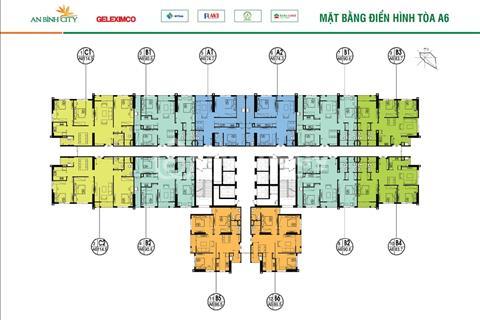 Bán gấp 2 căn tại An Bình City 1501-A6 (114,5m2) và 1605-A7 (74,7m2), giá 25 triệu/m2