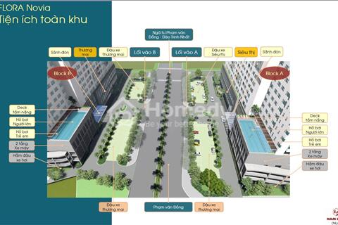 Căn hộ Flora Novia chủ đầu tư Nam Long vị trí mặt tiền đường Phạm Văn Đồng, giá 1.425 tỷ