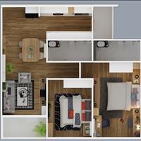 Mở bán căn hộ cao cấp quận 8 20 triệu/m2, 2 phòng ngủ, Block B, C