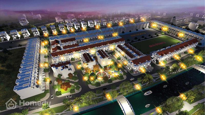 Dự án Khu đô thị Phúc Giang Long An - ảnh giới thiệu