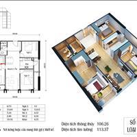 Bán gấp căn 106m2 giá 28 triệu/m2, chung cư Eco Green Nguyễn Xiển