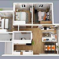 Do có việc gia đình nên mình cần sang nhượng lại căn hộ 2 phòng ngủ 1,5 tỷ