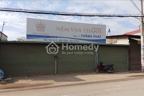 Cho thuê mặt bằng Vĩnh Lộc B đường Hương lộ 80, 20x75m, chính chủ giá 50 triệu/tháng