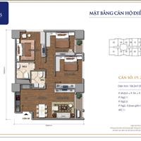Bán căn hộ chung cư tại chung cư Times City, 106m2, 3 phòng ngủ, giá 4,28 tỷ