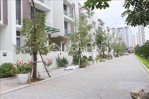 Bán nhà biệt thự  4 tầng 1 hầm ô tô đỗ cửa tại Nguyễn Huy Tưởng của Hòa Bình Group