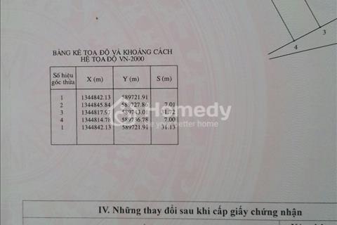 Đất thổ cư 100% cạnh khu công nghiệp, bệnh viện, chợ Suối Tân, Cam Lâm, diện tích 7x32m
