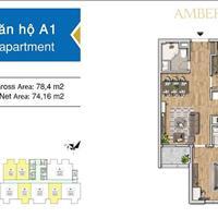 Amber Riverside, chỉ với 644 triệu sở hữu căn 3 PN tặng 2 cây vàng, hỗ trợ 0% lãi suất 18 tháng