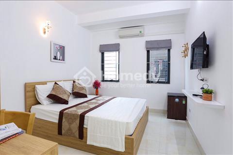 Cho thuê chung cư đủ đồ 1 ngủ khu Nguyễn Phong Sắc, gần Hoàng Quốc Việt, Duy Tân