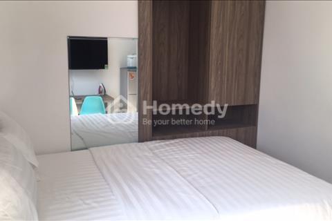 Cho thuê gấp căn hộ dịch vụ 1 phòng ngủ full nội thất đường D1 khu Him Lam, Tân Hưng, Quận 7 giá rẻ