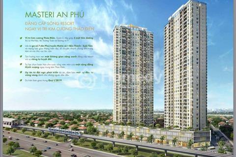 Căn hộ văn phòng Masteri An Phú Officetel duy nhất tại Thảo Điền, cơ hội đầu tư, có suất nước ngoài