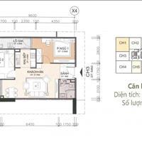 Bán căn 2 phòng ngủ đẹp, rẻ nhất dự án A10 Nam Trung Yên