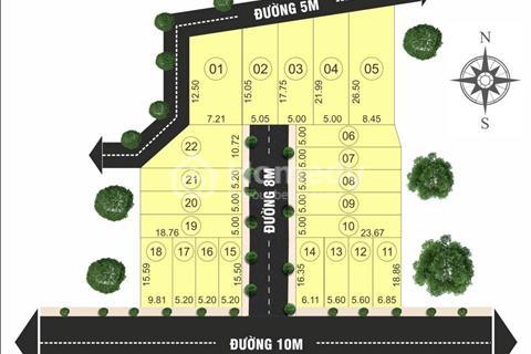 Đất sổ riêng khu dân cư hiện hữu, chợ Hưng Long, Bình Chánh, hỗ trợ vay vốn