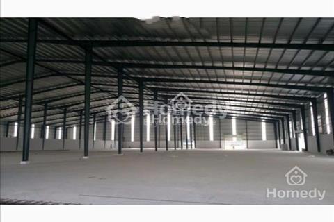 Cho thuê xưởng 2 mặt tiền đường nhựa An Phú Đông, Quận 12, giá 27 triệu/tháng