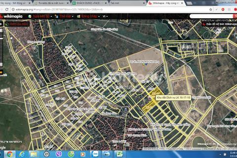 Bán căn liền kề 100m2 khu C Geleximco giá 27 triệu/m2