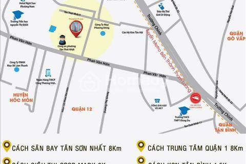 Căn hộ Prosper Plaza gần cầu Tham Lương, chỉ từ 1,45 tỷ/căn, 2 phòng ngủ, 2 WC đã VAT