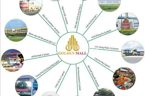 Đất vàng thương mại trung tâm ngay ngã tư 550 Dĩ An, mặt tiền đường 22m, giá chỉ 1,5 tỷ, sổ riêng