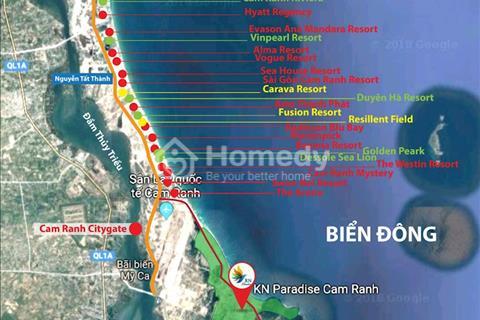Cơ hội đầu tư giai đoạn 1, KN Paradise Cam Ranh nhà phố biển Townhouse