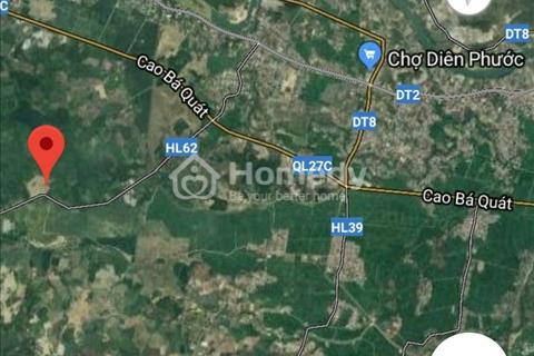 Bán lô đất mặt tiền Hương lộ 62, Diên Tân, Diên Khánh, 12000m2, giá 1.8 tỷ