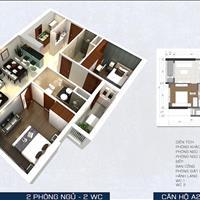 Căn PegaSuite tầng cao, hướng tây nam, cuối năm nhận nhà, 2 phòng ngủ, giá tốt nhất trong khu vực