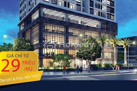 Dự án The Sun chỉ từ 2,6 tỷ/căn 3 phòng ngủ vị trí vàng, đối diện The Manor, cạnh Keangnam