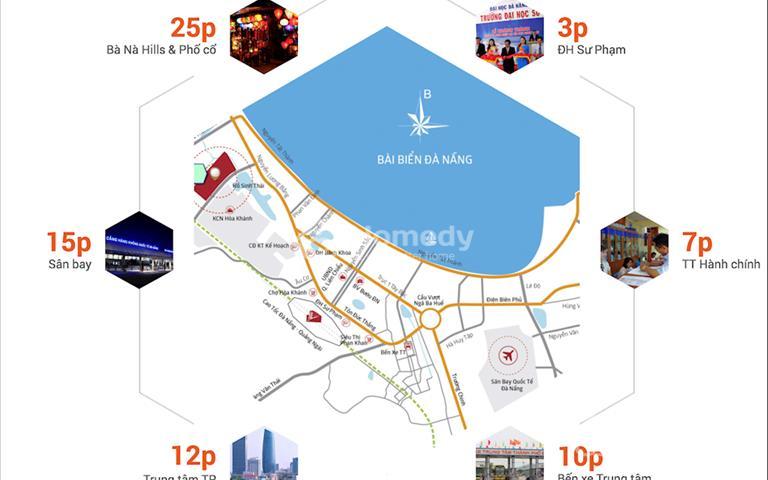 Lý do nhà đầu tư lựa chọn dự án Homeland Central Park là điểm đến đầu tiên ở Đà Nẵng