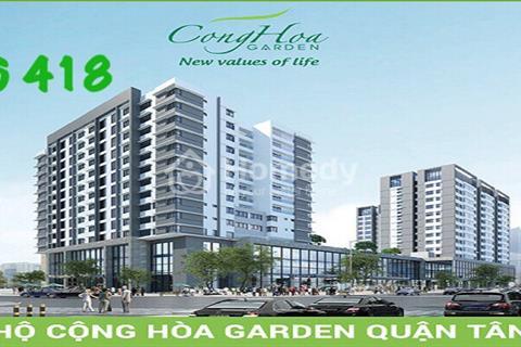 Chỉ 50 triệu đặt chỗ Cộng Hòa Garden - ưu tiên căn view đẹp nhất - liền kề sân bay Tân Sơn Nhất