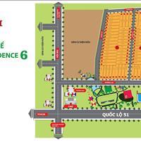 Đất Tân Thành - Thổ cư hai mặt tiền đường nhựa 6m thị xã Phú Mỹ, sổ hồng riêng, giá chỉ 6.5tr/m2