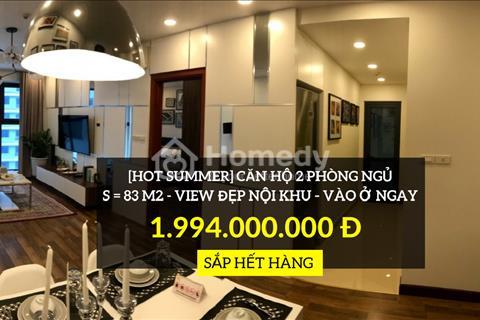 Goldmark City - Cơ hội cuối cùng trong tháng 7, sở hữu căn hộ trong mơ 2 phòng ngủ giá chỉ 1,99 tỷ