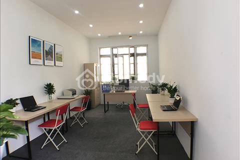 Cho thuê văn phòng trọn gói 25m2, giá chỉ 3,9 triệu/tháng, mặt phố Giải Phóng (100% ảnh thật)